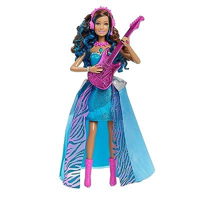 Barbie in Rock 'n Royals Singing Erika Doll: Toys & Games