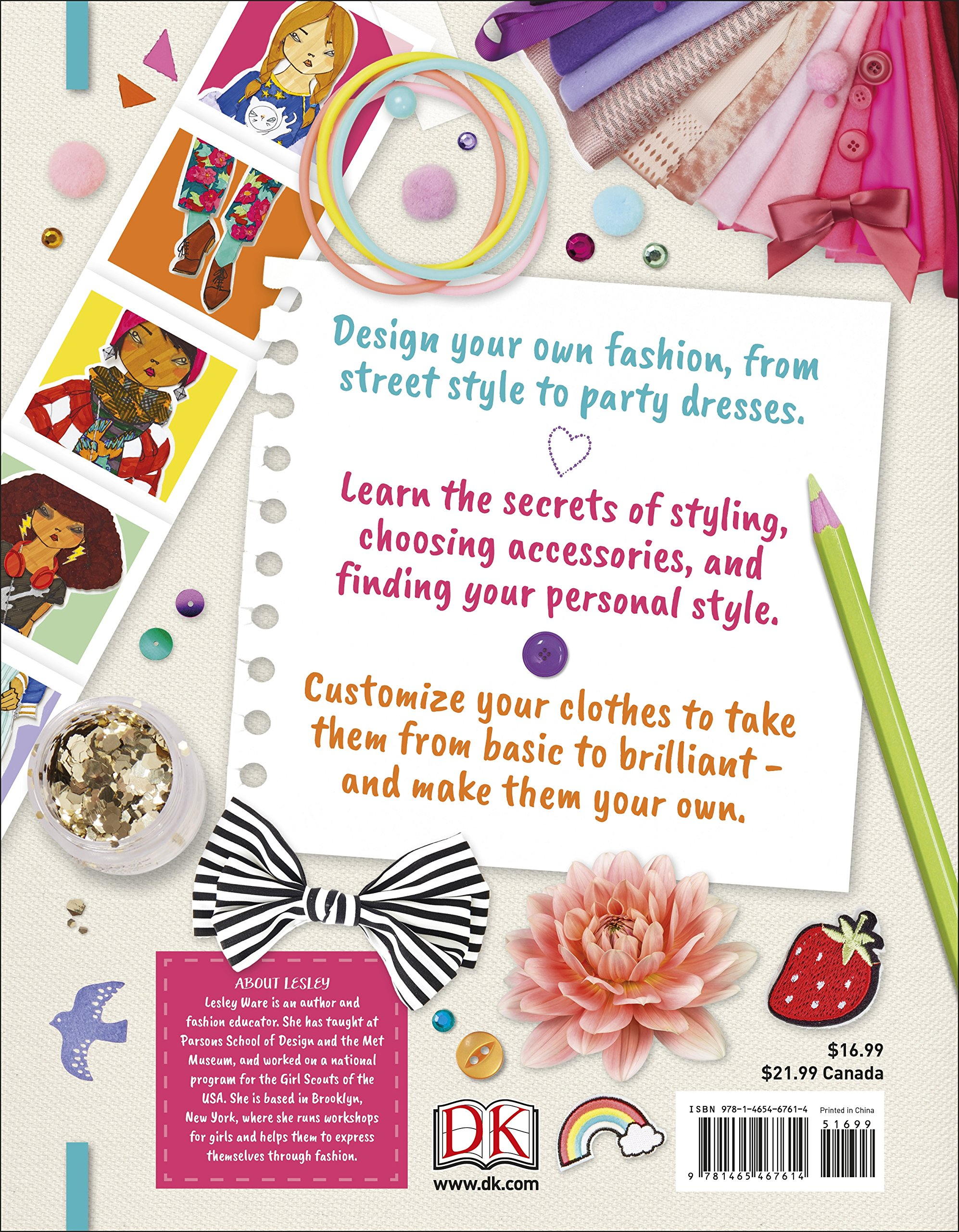 How To Be A Fashion Designer Careers For Kids Ware Lesley Tiki Papier 9781465467614 Amazon Com Books