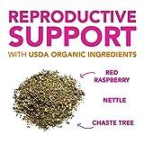Pink Stork Fertility Tea: Sweet Mint, USDA Organic, Fertility + Hormones + Cycle, Women-Owned, 30 Cups