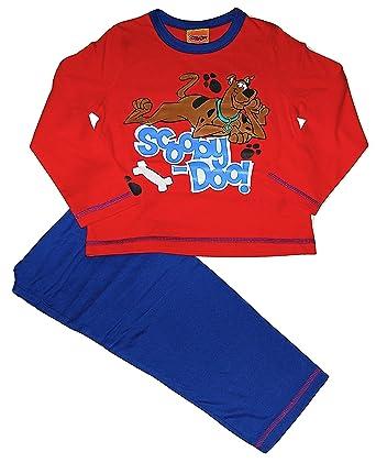 d78fe130ef Boys Pyjamas PJs Scooby Doo Dog 4-5 5-6 6-7 7-8 Years (6-7 Years ...