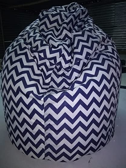 Aart Chevron Pattern Bean Bags XXL With Beans Filled Provides Ultimate Comfort Great For