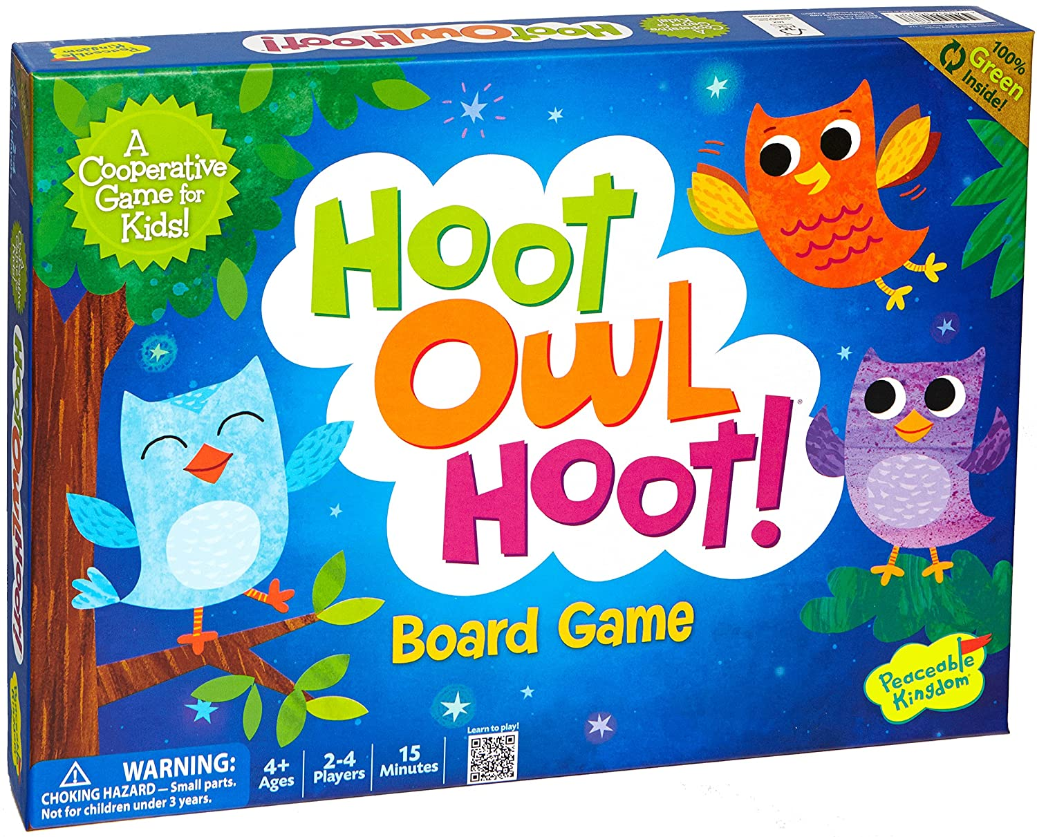 amazon com peaceable kingdom hoot owl hoot award winning