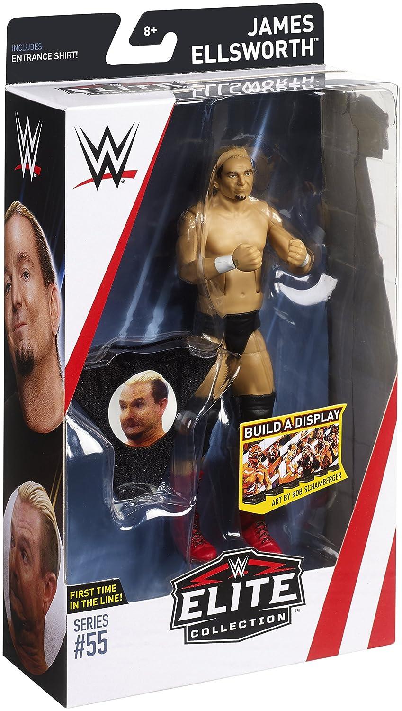 WWE Elite Collection Series # 55 James Ellsworth Action Figure Mattel FMG32