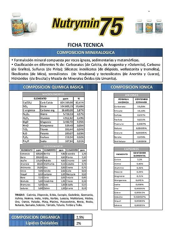 Energy Feelings NUTRYMIN75 comprimidos - 90 cápsulas: Amazon.es ...