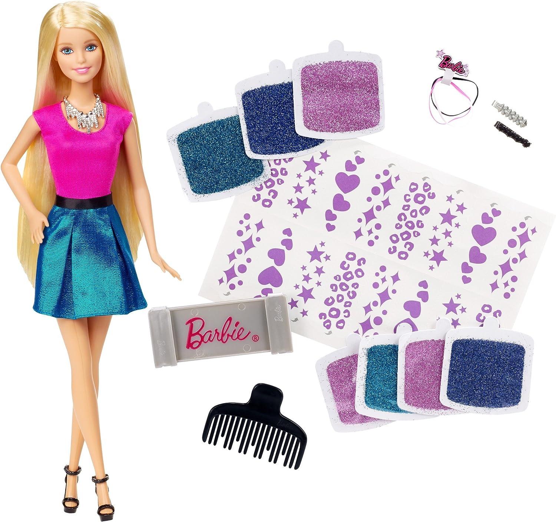 Amazon.es: Barbie - Mechas Purpurina (Mattel CLG18): Juguetes y juegos