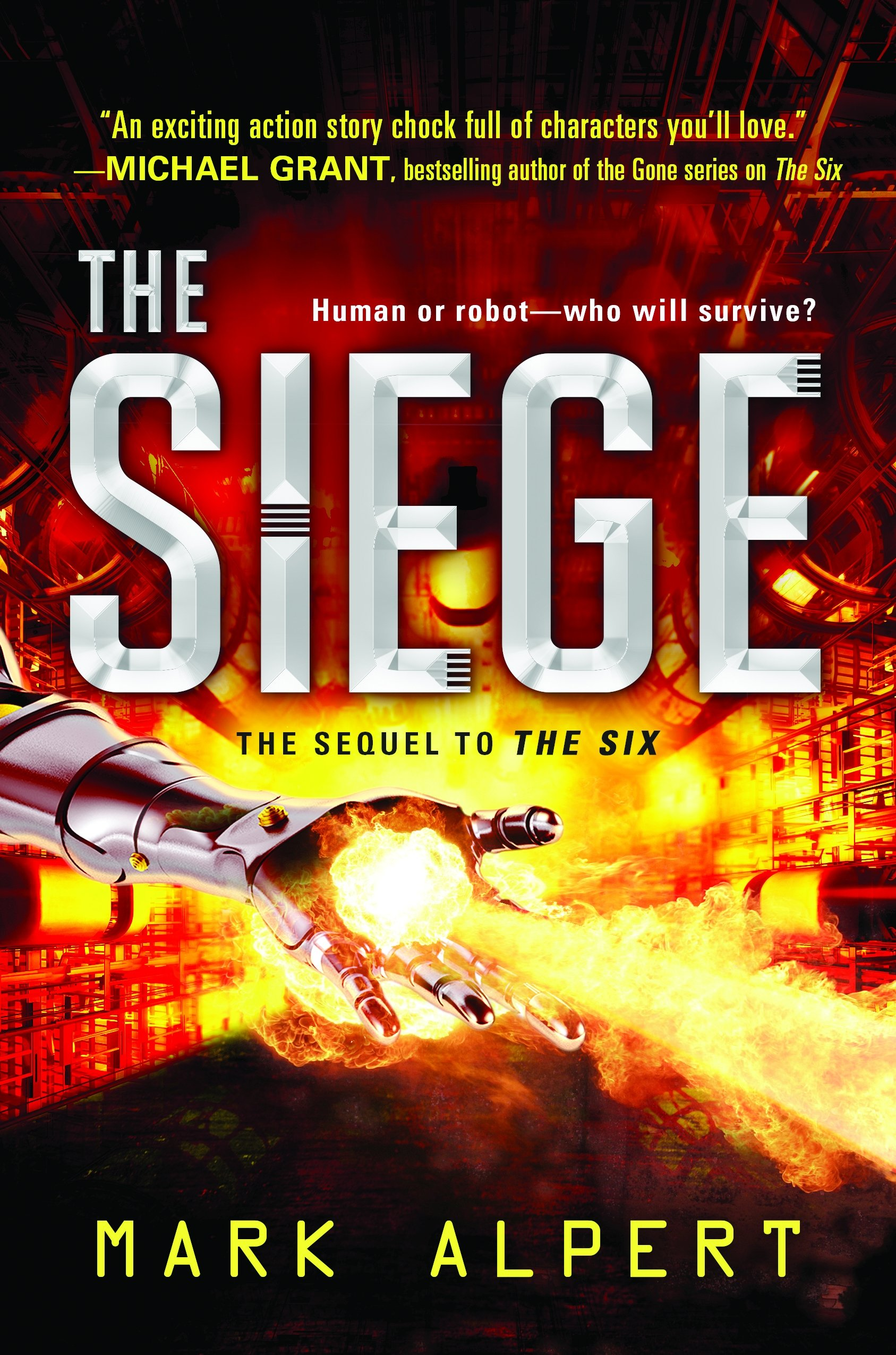 Image result for the siege book mark alpert