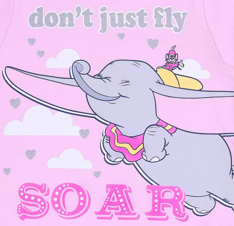 Pigiama Rosa a Due Pezzi Dumbo Disney
