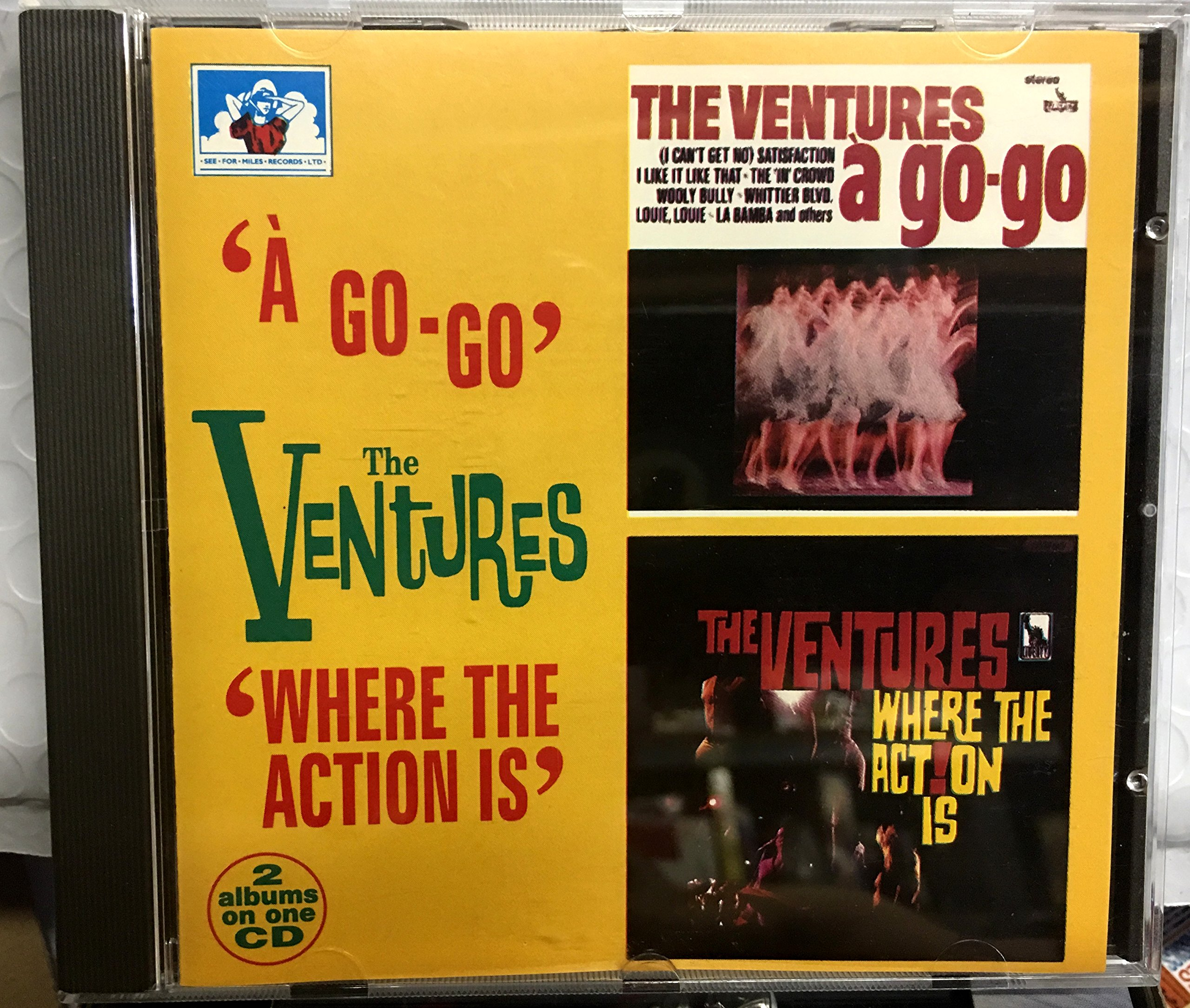 Ventures a Go-Go / Where the Action Is by See for Miles UK