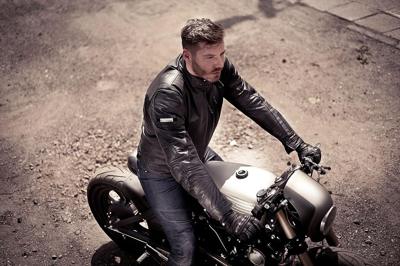 Braun Bel/üftet Herren Leder Motorradjacken R/ückenprotektor Vintage Retro Sommer 2018 XXL S-3XL Shima HUNTER PLUS 2018 BROWN
