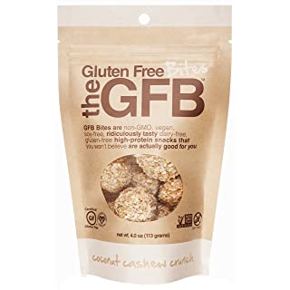 Gluten Free Bites, Coconut Cashew Crunch, 4 ounce Bag