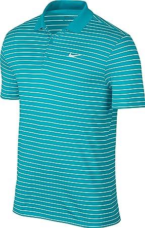 Nike Victory Mini Stripe Lc - Polo à manches courtes Homme, couleur Bleu, taille S