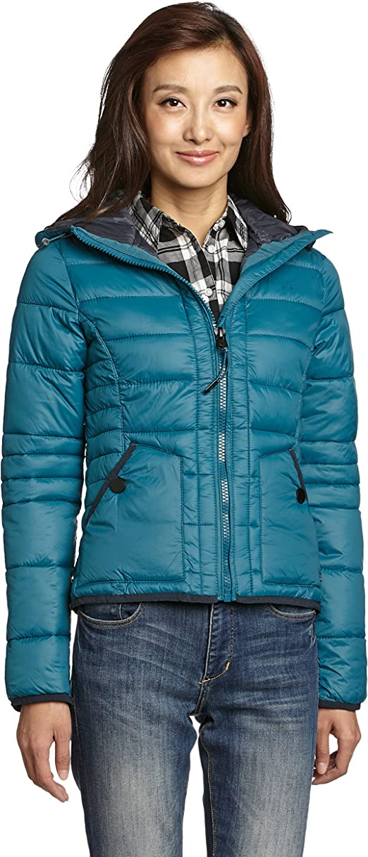 Wattierte Outdoorjacke Dunkeltürkis Ladies | H&M DE