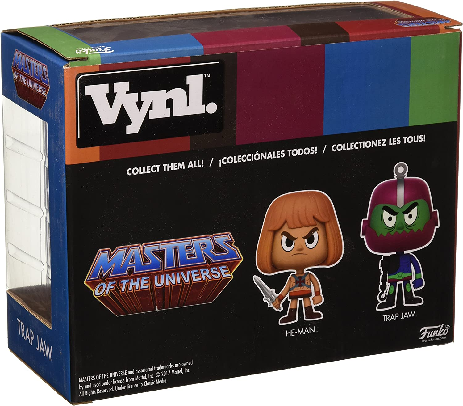 Masters of the Universe FUNKO He-Man and Trap Jaw Vinyle Pack de 2 Nouveau!