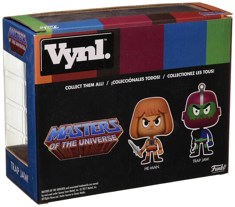 Figuras Vynl Masters of The Universe He-Man y Trapjaw: Amazon.es: Juguetes y juegos