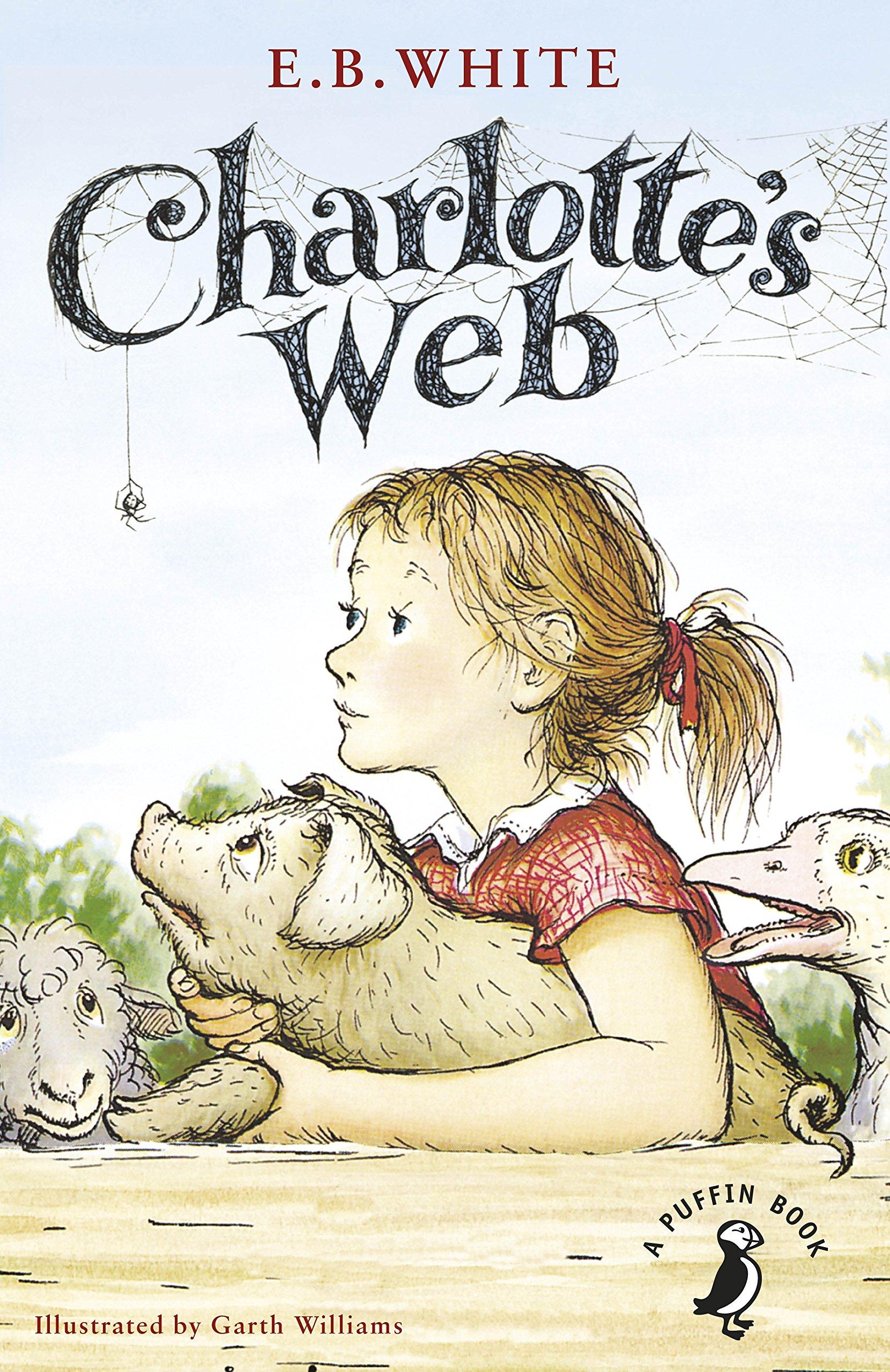 charlotte u0027s web a puffin book amazon co uk e b white garth