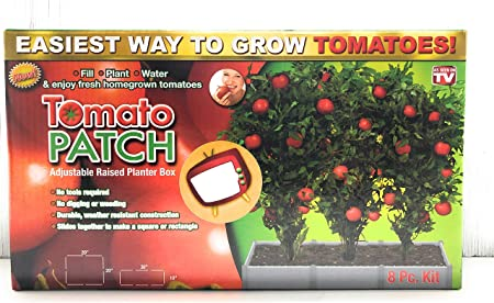 Amazon Com Spark Innovators Tomato Patch Adjustable Raised