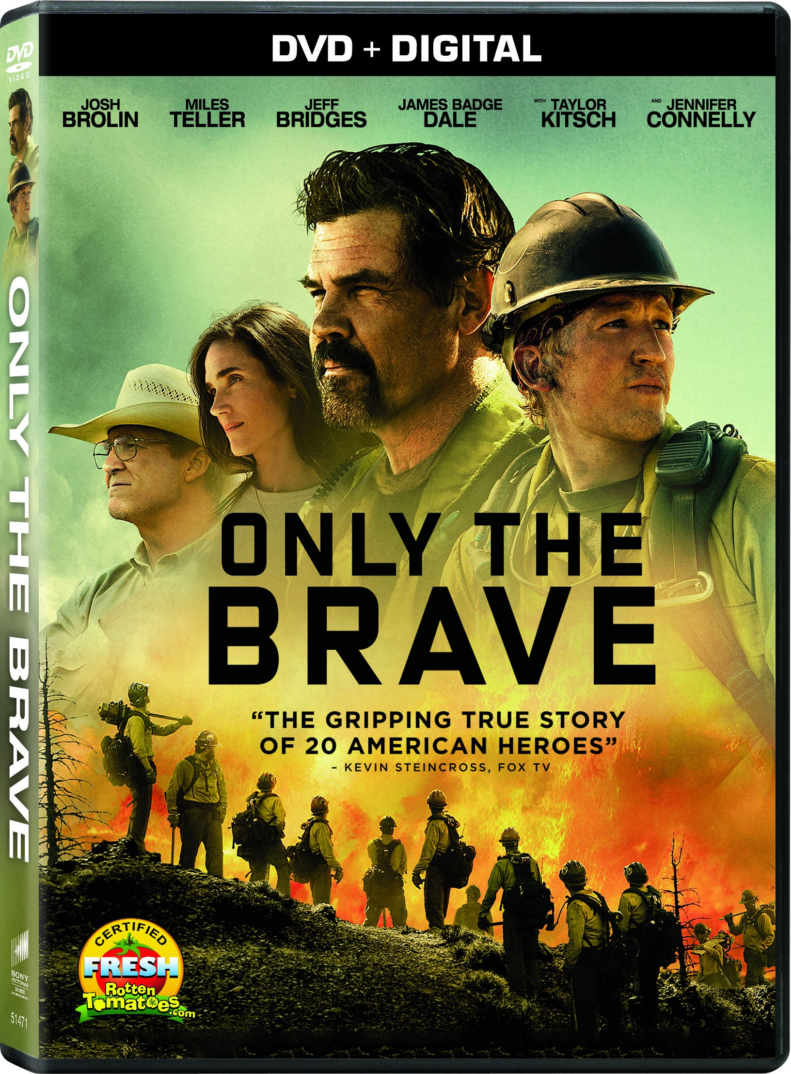 DVD : Only The Brave (Dolby, AC-3, Widescreen, , Dubbed)
