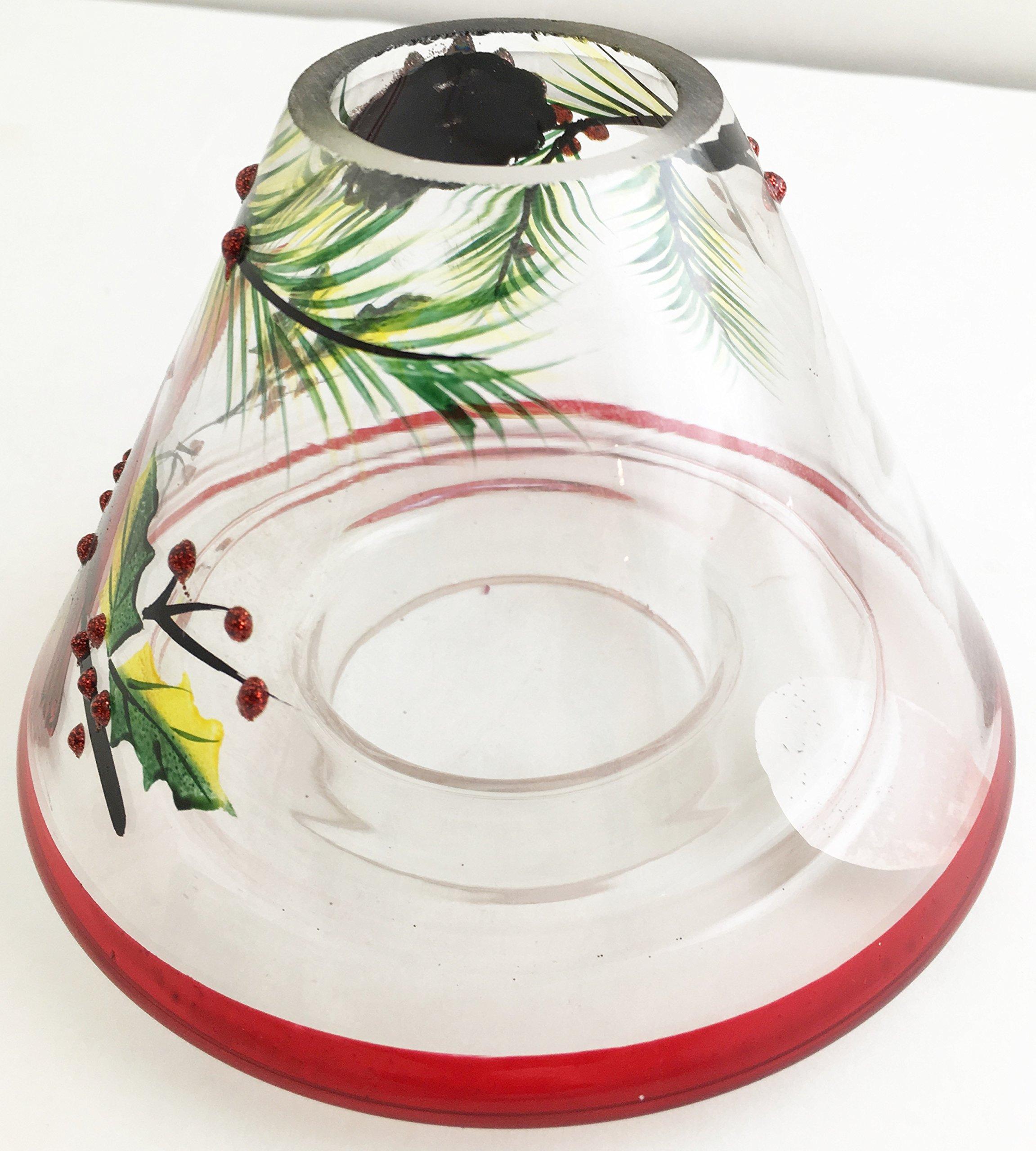 Biedermann & Sons Handpainted Jar Shades, Cardinal Scene, 4-Count by Biedermann & Sons (Image #4)