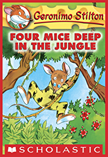 Geronimo stilton 6 paws off cheddarface kindle edition by geronimo stilton 5 four mice deep in the jungle fandeluxe Image collections