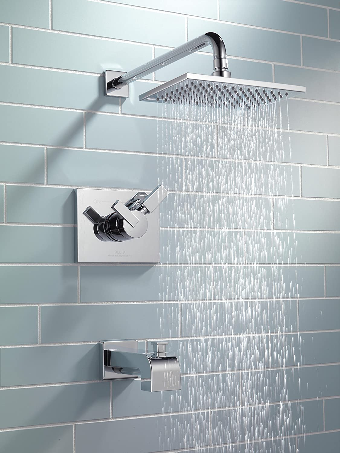 Delta T17453 Vero 17 Series Dual-Function Tub and Shower Trim Kit ...