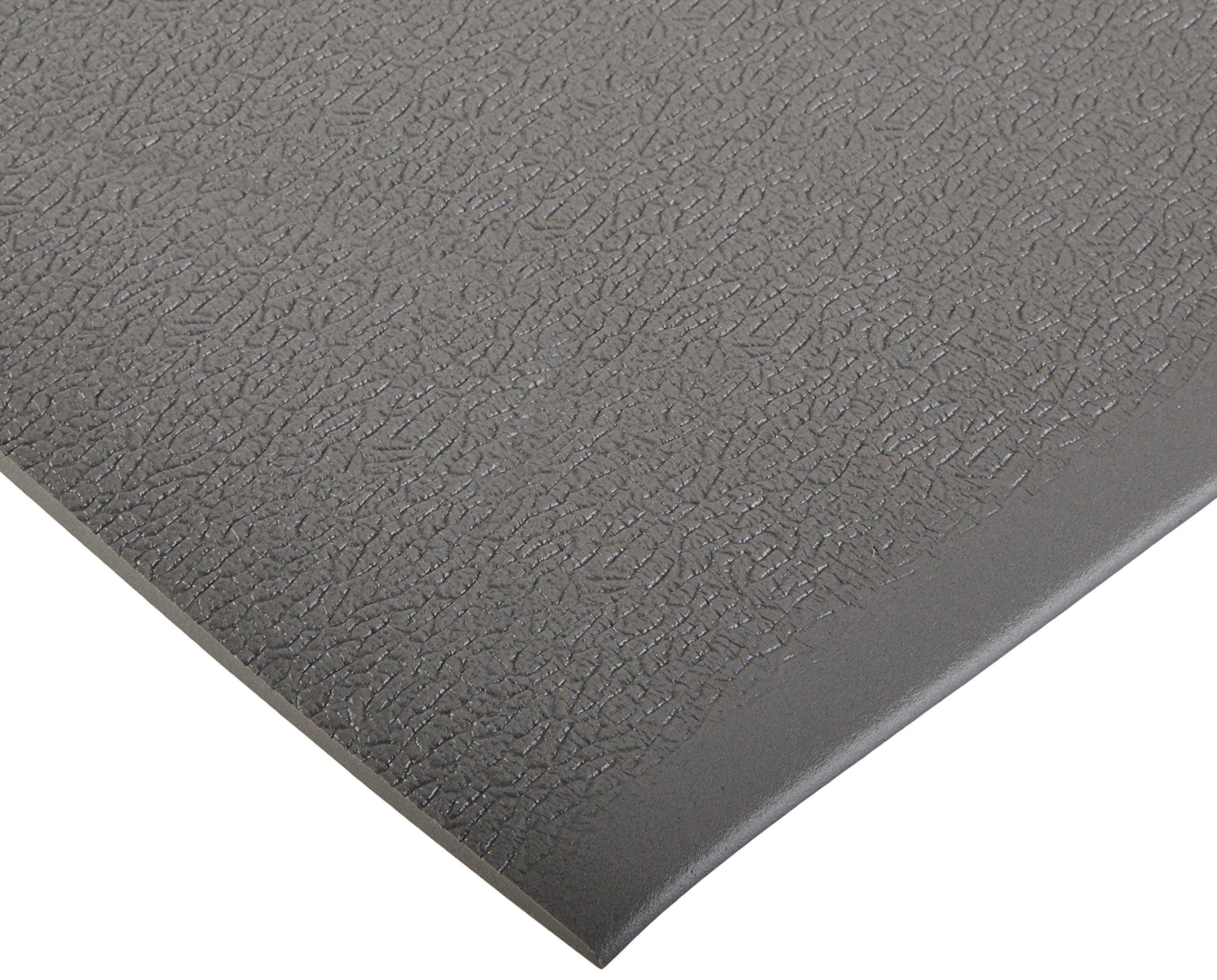 Bertech ESD Anti Fatigue Floor Mat Roll, 3' Wide x 10' Long x 0.375'' Thick, Gray (Made in USA)