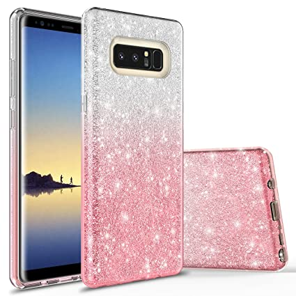 Coque Galaxy Note 8, Note 8 Coque, Rosebono Cute Fashinon Fin de Luxe en 970d9b908fb6