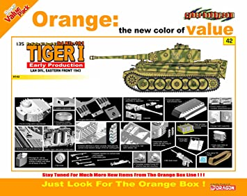 Dragon 500729142 - 1: 35 Tiger I Early Production lah ...