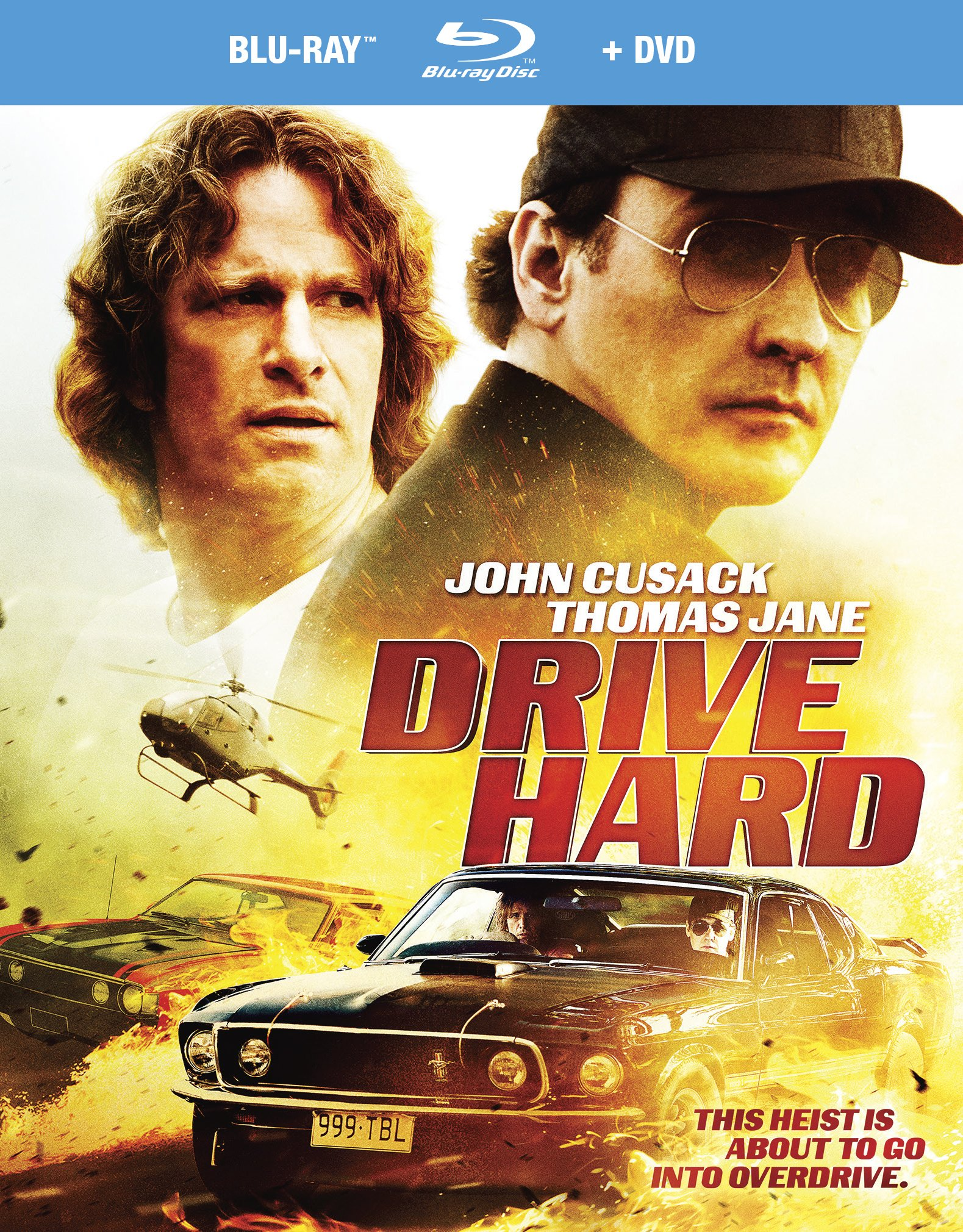 Blu-ray : Drive Hard (With DVD, 2PC)