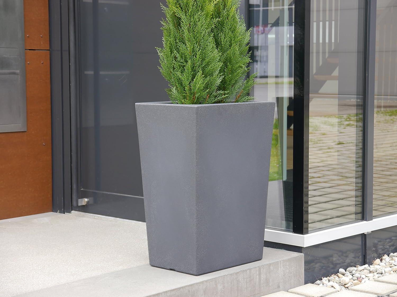 pflanzk bel elba l50x b36x h70cm aus rotations kunststoff. Black Bedroom Furniture Sets. Home Design Ideas
