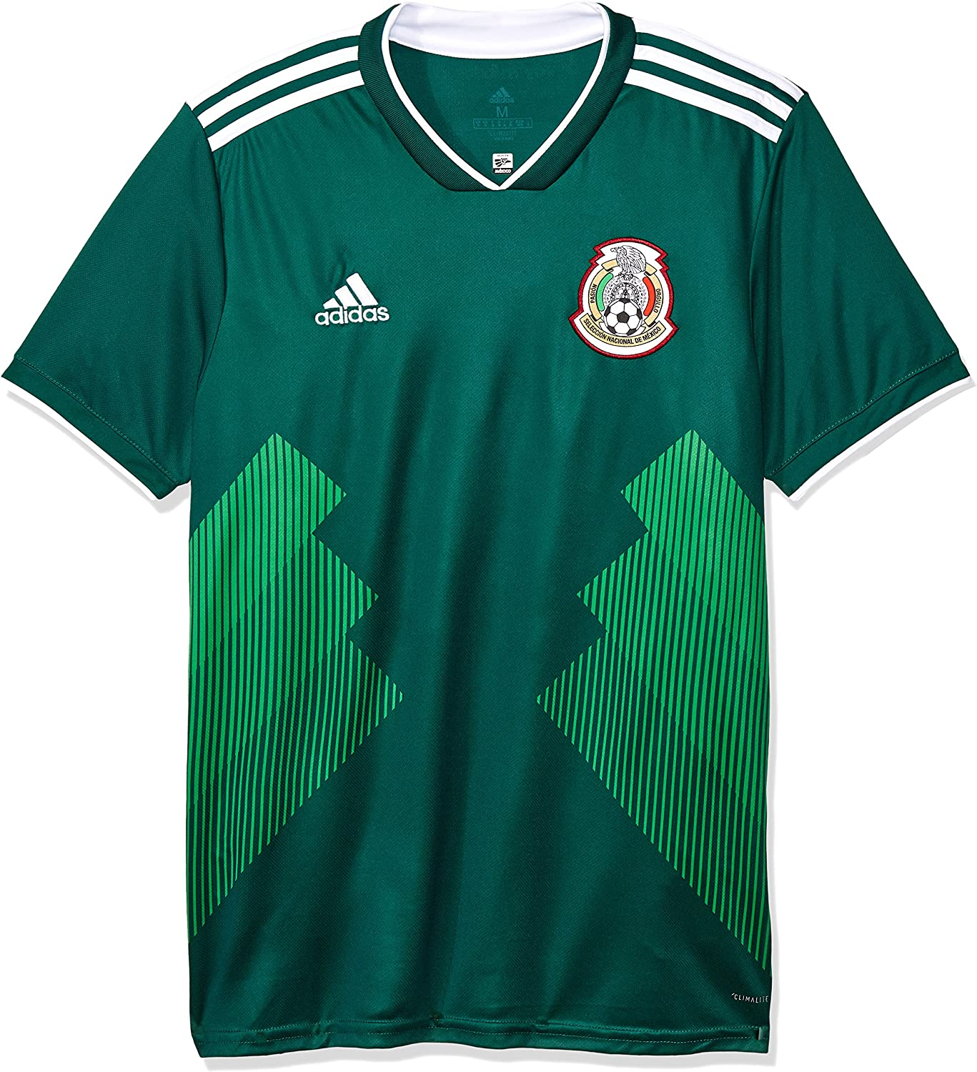 adidas 2018-2019 Mexico Home Football Soccer T-Shirt Jersey