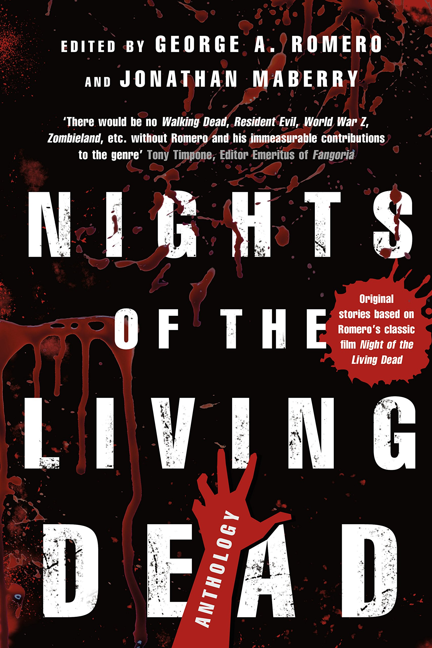 Image result for Nights of the Living Dead: An Anthology edited by Jonathan Maberry and George A. Romero