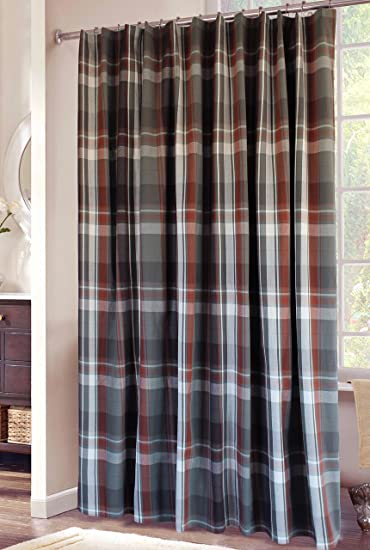 Amazon.com: Carstens Grand Teton Plaid Shower Curtain: Home & Kitchen
