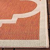 Safavieh Courtyard Collection CY6243-241 Terracotta