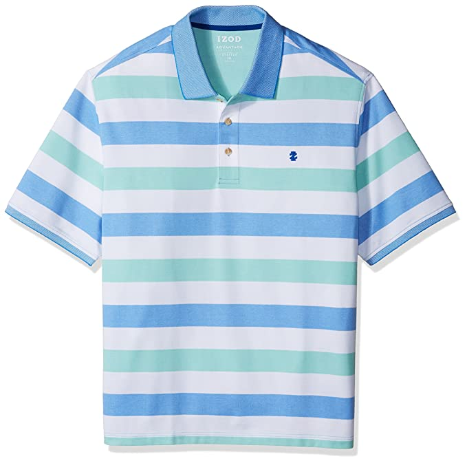 1a3ed2b9e2 Amazon.com  IZOD Men s CLEARANCE Big and Tall Advantage Performance Solid  Polo Shirt  Clothing