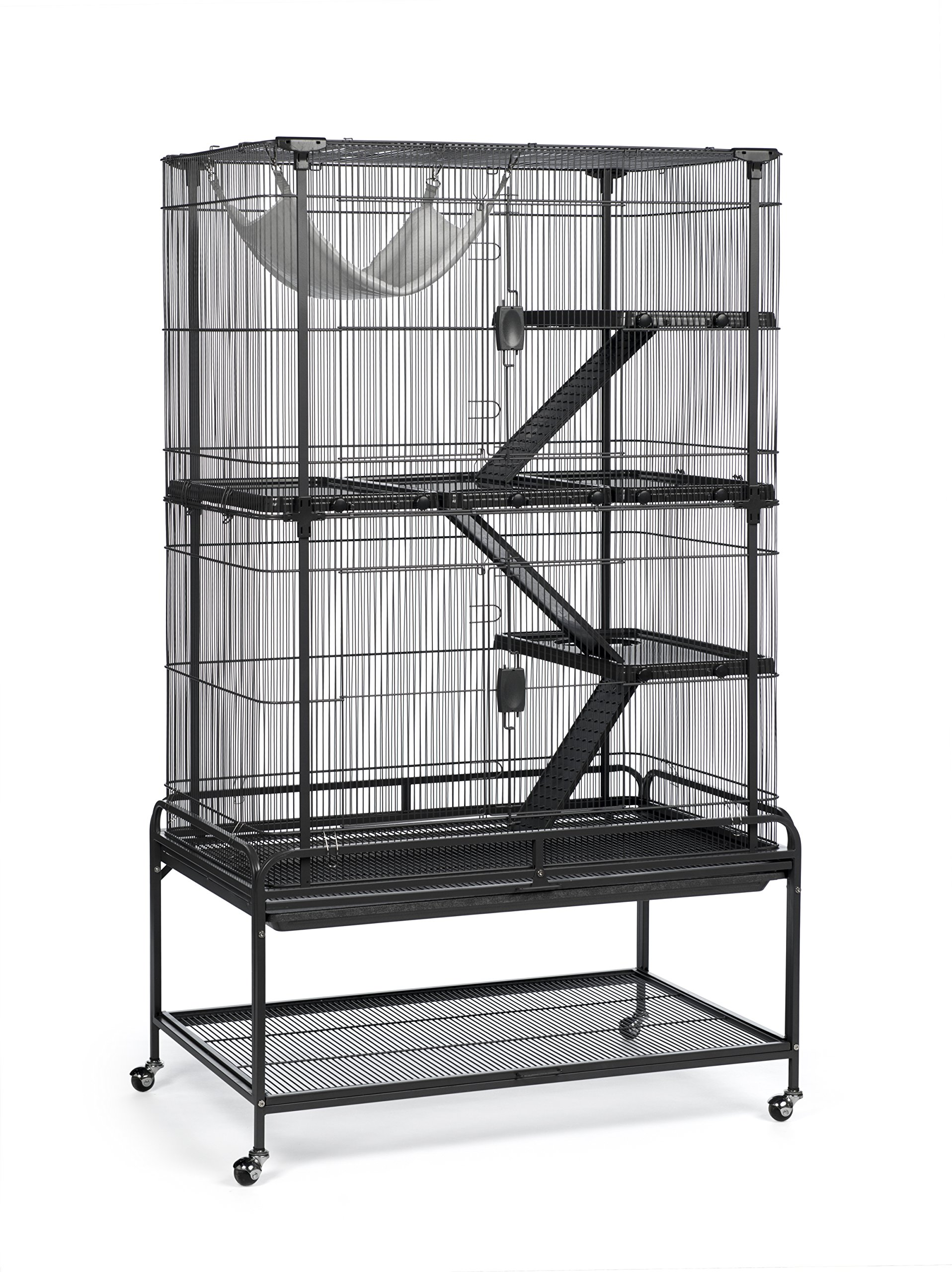 Prevue Pet Products 484 Deluxe Critter Cage, Dark Gray by Prevue Pet Products