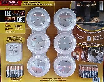 Lightmates Wireless LED puck light - 6 puck/pack