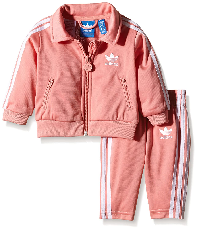 rosa adidas anzug