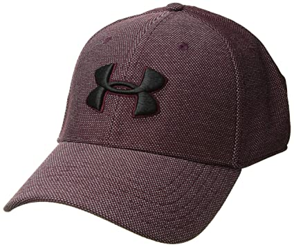 sale retailer 92563 6663f ... official store under armour mens heathered blitzing 3.0 cap dark maroon  600 black dffe6 7eadf