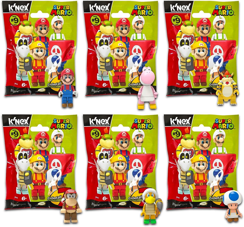 Paquete de Recuerdos de Fiesta de Super Mario, 6 Paquetes de Misterio de Super Mario con Juguetes Sorpresa (Super Mario / Mario Kart Party Suministros): Amazon.es: Juguetes y juegos