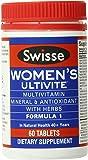 Swisse Women's Ultivite Tablets, 60 Count