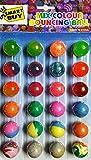 Generic Crazy Bouncy Jumping Balls Set (24 Crazy Balls)