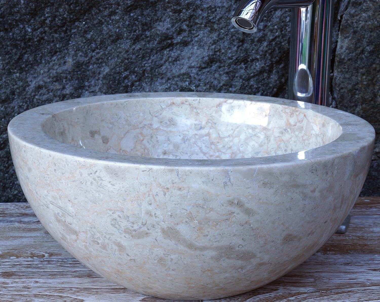 Vasca Da Bagno In Pietra Naturale Prezzi : Guru shop lavabo tondo in marmo massello lavabo lavabo in pietra