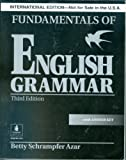 Fundamentas of English Grammar third edition, international edition