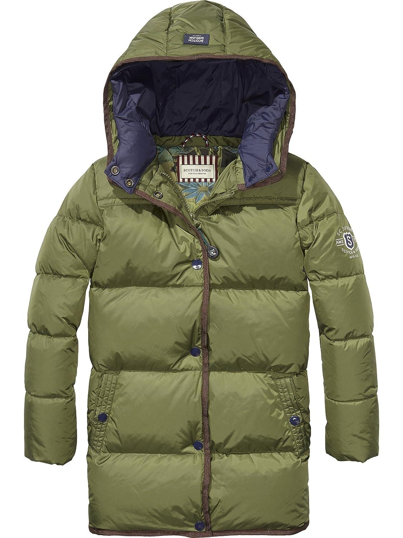 f5799504cc97f Scotch   Soda Boy s Long Puffer Coat, Blue (Night 002), 12 Years   Amazon.co.uk  Clothing