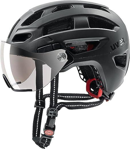 91YTEI75BEL. AC SL520  - Uvex Unisex– Erwachsene, finale visor Fahrradhelm