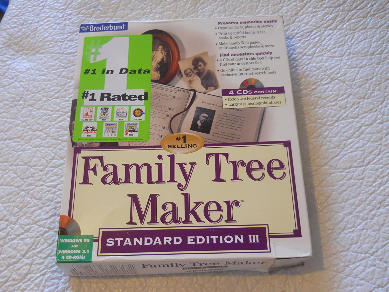 amazon com family tree maker standard edition iii