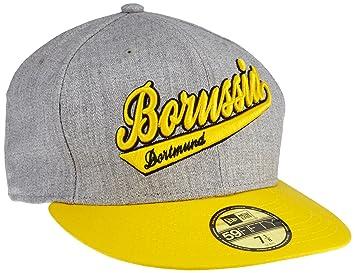 BVB Borussia Dortmund Kappe Cappy Cap 59fifty grau (M)  Amazon.de ... 158c02b174