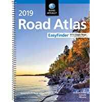 2019 Rand McNally EasyFinder® Midsize Road Atlas