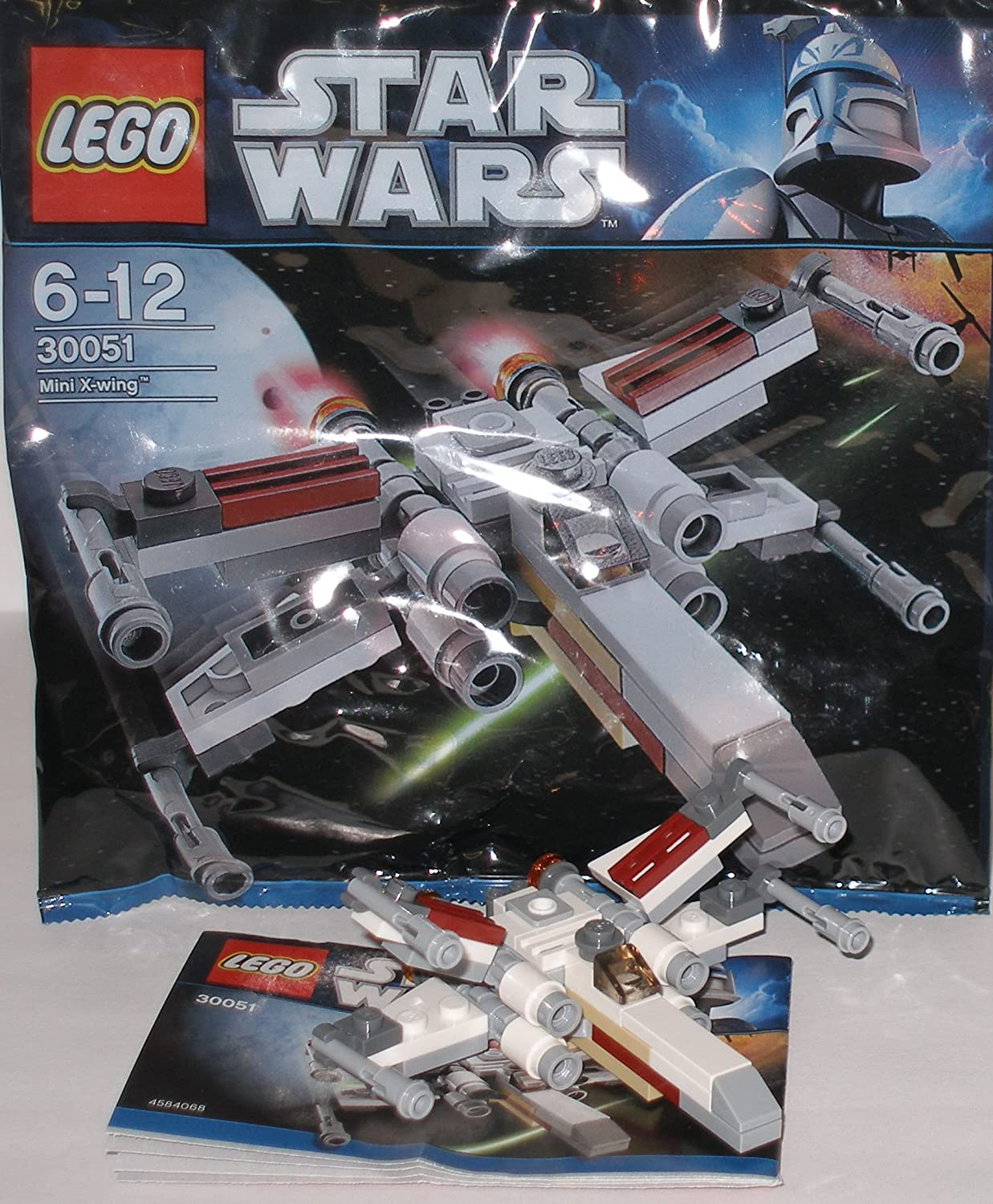 LEGO Star Wars Exclusive Mini Building Set #30051 XWing Starfighter Bagged