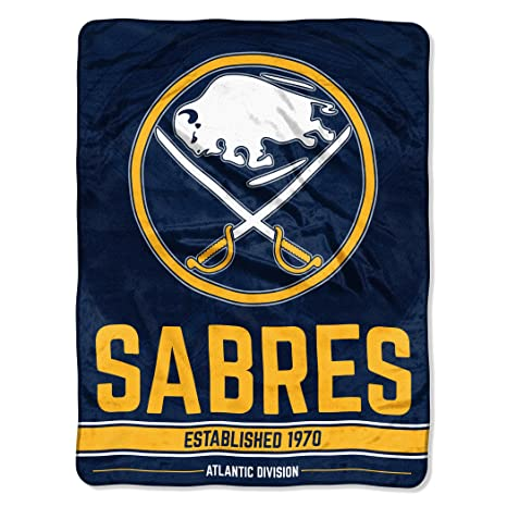 The Northwest Company Officially Licensed NHL Buffalo Sabres Break Away  Micro Raschel Throw Blanket 12f023ed0
